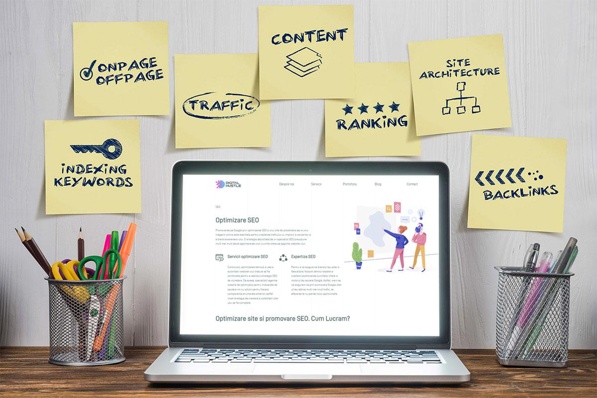 SEO redesign website